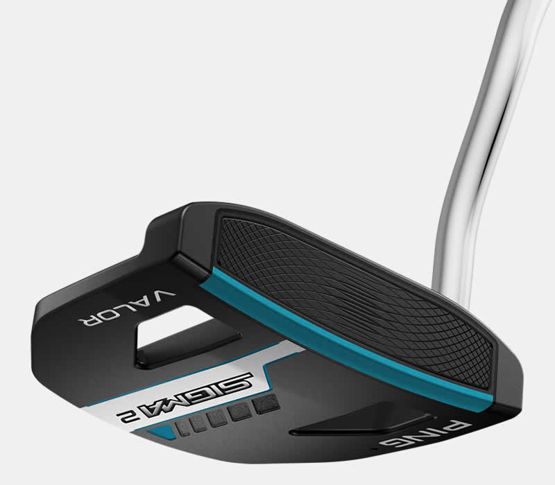 face view of sigma 2 valor stealth putter