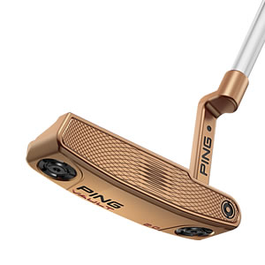 face view of Copper Vault 2.0 Dale Anser putter