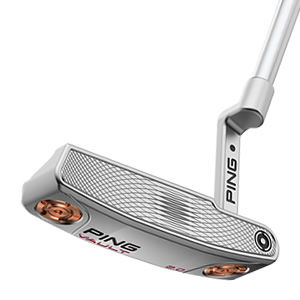 face view of Platinum Vault 2.0 Dale Anser putter