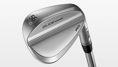 Glide Forged Pro wedge cavity
