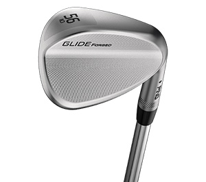 cavity view of Glide Forged wedge