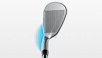 Glide Wedge Hosel Illustration