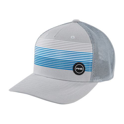 Image of Fitted Sport Mesh Hat Grey