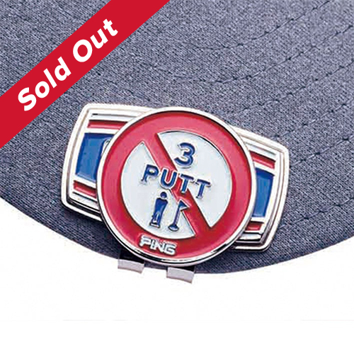 PING Japan No 3 Putt Marker - SOLD OUT