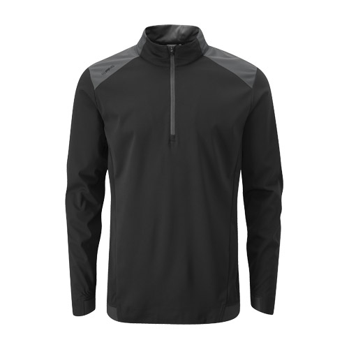 Front image of Vermillion Jacket Black Asphalt