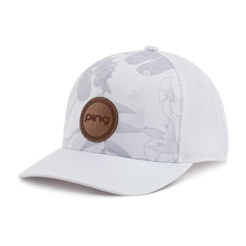 Image of Ladies Kona Cap, White