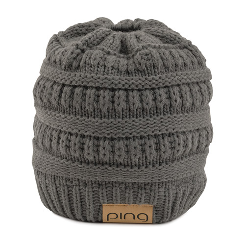 Image of Ladies Ponytail Knit, Grey