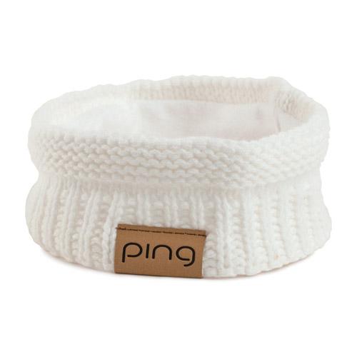 Image of Ladies Knit Headband, white