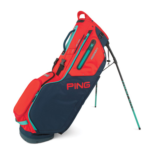 Image of Hoofer 14, Navy/Red/Turquoise