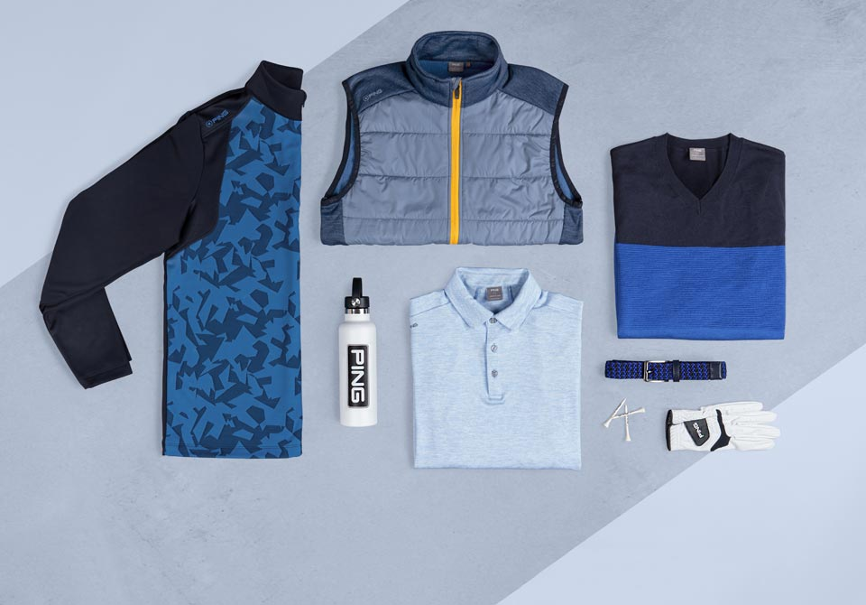 Merchandising tile image of PING autumn and winter 2021 apparel collection