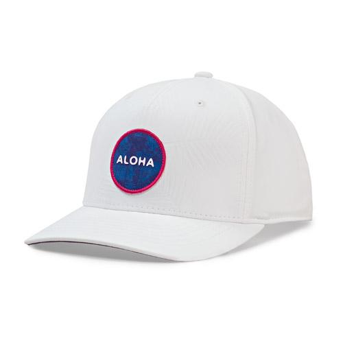 Image of Aloha Snapback, White