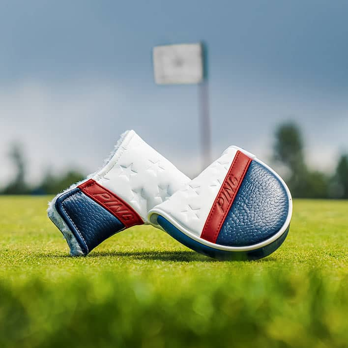 Stars and Stripes Mallet Putter Cover