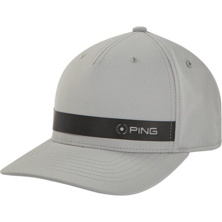 Front view of KP Cap, Grey Black colorway