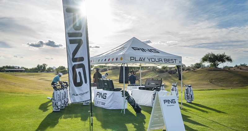PING Fitting Event at driving range