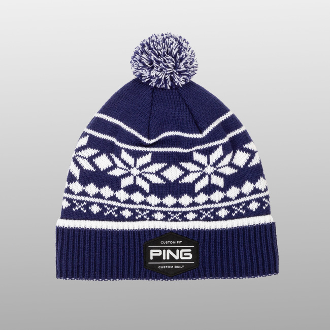Bergen Knit Navy/White