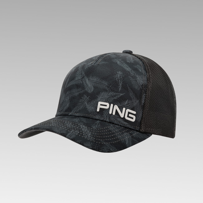 Fern Mesh Cap - Black/Blue