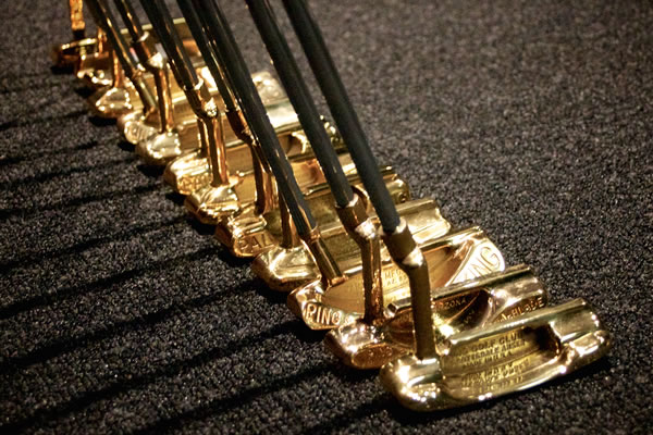 gold putters used to win The Masters