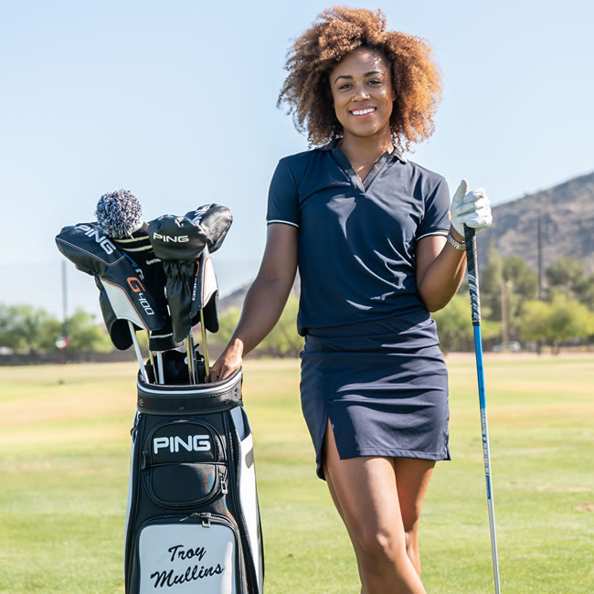 a535c1aa611 PING signs women s long-driver Troy Mullins