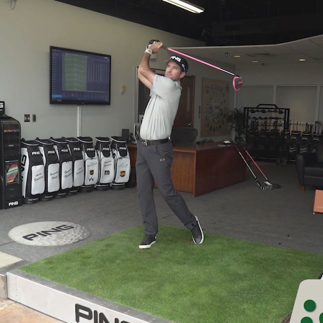 click to watch Bubba Watson G400 LST driver shot-making video